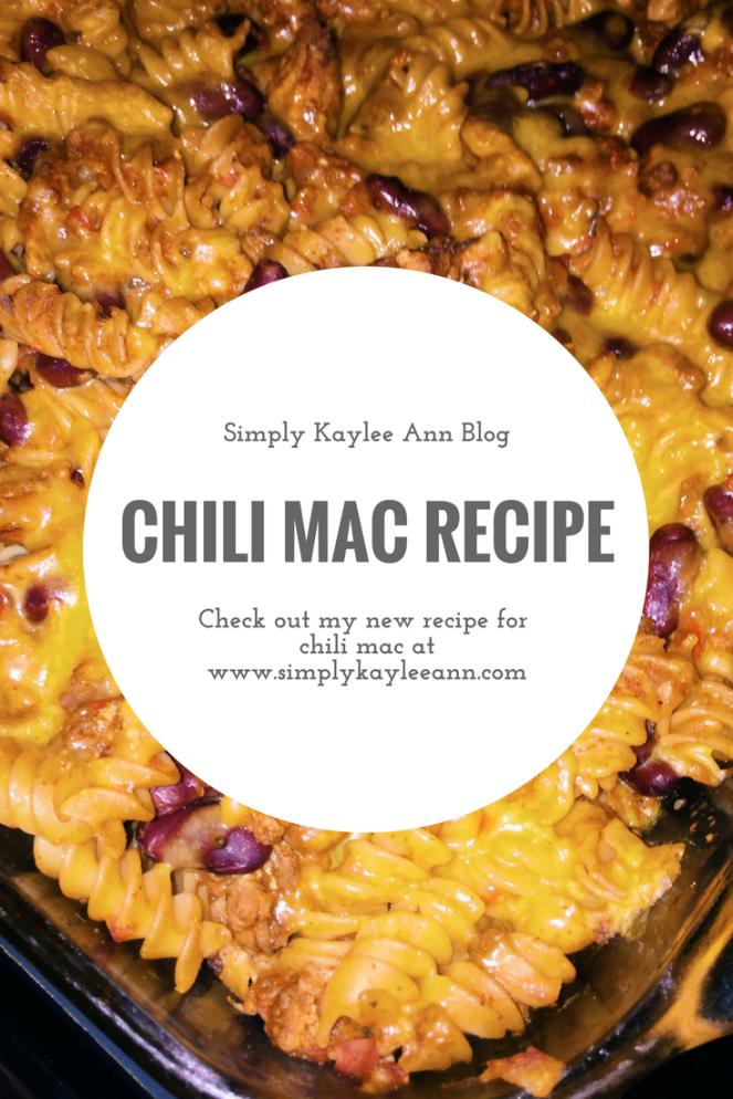 Chili Mac Recipe